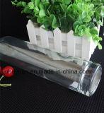 frasco de vinho 500ml vermelho de vidro transparente