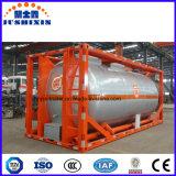 Envase líquido corrosivo químico al por mayor del tanque de la ISO 24cbm con Csc
