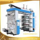 La pila de 8 colores de la máquina de impresión flexográfica