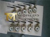 Válvula de borboleta de bronze do molde (D71X-10/16)