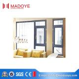 Indicador de vidro elegante dourado do Casement do baixo preço da oferta do fornecedor de China