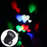 LED Moving Projector Light com Love Heart para Decoraton