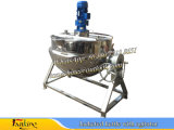 やかん500Lの産業調理のやかんのJacketed調理のやかんJacketed調理鍋の調理