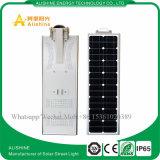 Freie Probe alle in einem integrierten Solar-LED-Straßenlaterne25W
