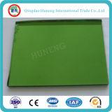 glace r3fléchissante vert-foncé de 4mm avec le certificat d'OIN