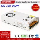 12V 30A 360W Schaltungs-Stromversorgung für Sicherheits-Überwachung