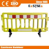 2m 플라스틱 군중 제어 장벽 및 플라스틱 휴대용 바리케이드