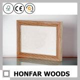 Frame de retrato feito sob encomenda da madeira contínua para o presente da promoção