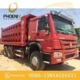 アフリカのためのよい状態の使用された336HP HOWO 10の車輪のダンプトラックのダンプカー6X4