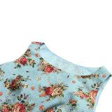 Alibaba Express gratuitement Dropshipping Womens robes de mariée Vêtements partie imprimé