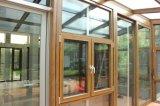 空の緩和されたガラスが付いている外の見えないアルミ合金の艶をかけられたカーテン・ウォール