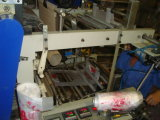 Высокоскоростной мешок завальцовки мешка тенниски делая машину с сдвоенными линия