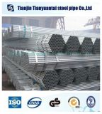 BS 1387 Pre galvanizado de tubos de acero redondo