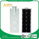20W étanche IP65 de lumière LED solaire solaire Rue lumière LED intégrée
