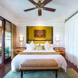 固体灰の木製の寝室の家具は最高のホテルの家具タイのためにセットした