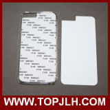 con la caja adhesiva de la PC de la sublimación de la pieza inserta del metal para el iPhone 6/6s