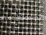 明白な編むステンレス鋼のひだを付けられた金網