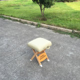 De houten Draagbare Kruk van de Massage