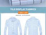 6개의 색깔 남자의 Cutton 격자 무늬 긴 소매 셔츠 고전 및 형식