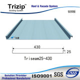 Standing Seam Roofing Sheet (costola 25mm)