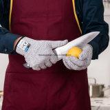 Отрежьте упорное предохранение от уровня 5 качества еды перчаток, перчатки отрезоков кухни безопасности для устрицы Shucking, выкружки рыб обрабатывая, Mandolin отрезая, вырезывания мяса