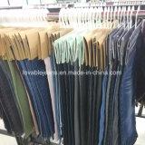 Jeans molli della donna di stirata sulla vendita (KHS003)