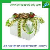Rectángulo de empaquetado del festival/del regalo de encargo de la cinta del cumpleaños/de la Navidad