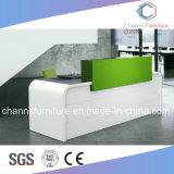 현대 반대 우아한 정면 테이블 멜라민 접수처 사무용 가구 (CAS-RD1726)