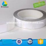 El papel blanco del desbloquear del animal doméstico negro modificó la cinta solvente del poliester (BY6925B)