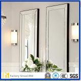 Novo espelho de vidro biselado de design moderno, espelho decorativo de parede
