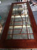 Раздвижная дверь Tempered стекла французской двери деревянная (GSP3-008)