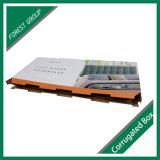 Contenitore di imballaggio ondulato riciclabile del Headboard con la maniglia dell'elemento portante