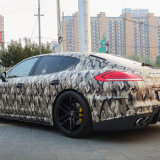 Tsautop 1.52 * 30m camuflaje del vinilo del coche de embalaje auto-adhesivo de aire a prueba de agua libres de la burbuja del abrigo del coche del vinilo de PVC etiqueta