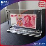 中国1及び100 RMBアクリルのCurrenceのフレーム