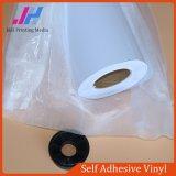 백색 접착제 PVC 자동 접착 비닐