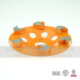 5 인치 화살은 화강암을%s 가는 다이아몬드 컵 바퀴를 분단한다
