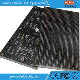 Módulo de pared hotsale publicidad interior a todo color de alta definición de vídeo LED P4