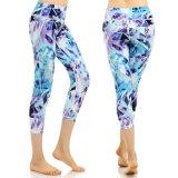 Pantalones cómodos coloridos atractivos de la yoga de las mujeres para la aptitud