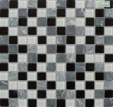 Venta caliente habitación de estar y baño mosaico de cristal