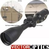 O urso 3-12X56 do sistema ótico do vetor que caça o espaço Riflescope da vista ótica com imagem brilhante 30mm Alemanha Monocular #4 gravou o vidro