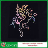 TシャツのためのQingyi Googのホログラムのビニールの熱伝達