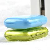3 Fach-bunter Arbeitsweg-Pille-Plastikkasten mit Deckel