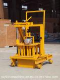 機械に機械を形作る空の煉瓦をする移動式Qt40-3cの具体的な卵の層のブロック
