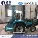 Hf100t monté sur tracteur machine de forage de puits d'eau
