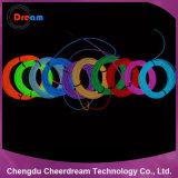 Colorful EL Wire Neon Rope Light pour Décoration