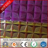 Выбитая кожа Faux кожи змейки искусственной кожи PVC для делать мешки с очень дешевым ценой