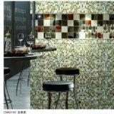 Янтарная стеклянная плитка пола мозаики
