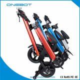 Bici piegante elettrica del motorino unico di E con il marchio