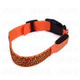 Colar leve do animal de estimação do diodo emissor de luz da cópia do leopardo da alta qualidade