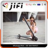 Scooter électrique pliable de coup-de-pied de deux roues, bicyclette électrique